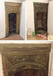 convert wood burning fireplace gas faux cast stone fireplace