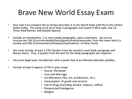 Blade runner Brave new world comparative essay   A Level English     MyQ See com