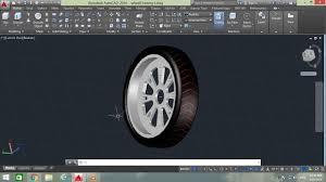 Car Design In Autocad 2d How To Design Car Wheel In Autocad Autocad Tutorial