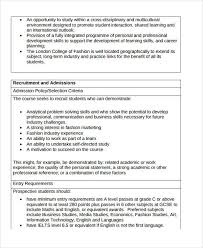Business student personal statement