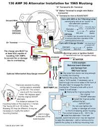 alternator wiring diagram for 1967 mustang alternator ford 2g alternator wiring diagram wiring diagram schematics on alternator wiring diagram for 1967 mustang
