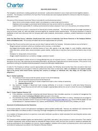 open door policy document. Open Door Policy Document A