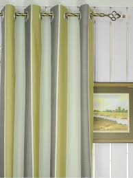 ... Modern Wide Striped Cotton Blend Blackout Grommet Ready Made Curtain  Heading Style Modern Wide Striped Cotton Blend Blackout Grommet Ready Made  Curtain ...