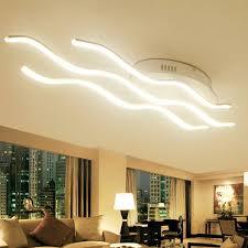 Moderne Led Plafonniers Chaud Cool Blanc Luminarias Deckenlampe