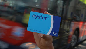 an oyster card for london underground