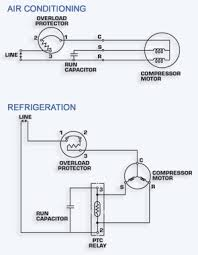 ac relay wiring diagram ac image wiring diagram a c compressor capacitor wiring diagram wiring on ac relay wiring diagram