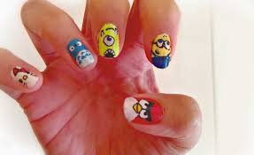 Hot designs nail art ideas - how you can do it at home. Pictures ...