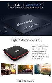 MECOOL M8S PRO W Android 7.1 TV BOX 2G+16G S905W Quad Core 3D WiFi 4K HD  Media Media Streamers Consumer Electronics theveterinarymedicine.com