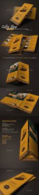 Coffee Shop Brochure Template Coffee Shop Menu Vol24 Coffee Shop Menu Menu And Coffee 23