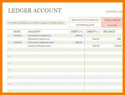 Simple General Ledger Simple General Ledger Template Excel Golfclub