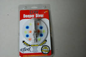 Details About Dreamweaver Lure Company Deeper Diver 107mm Size 4 50 80 Feet
