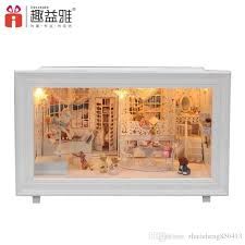 2016 New Wooden Dollhouse Furniture Kids Toys Handmade Gift Diy