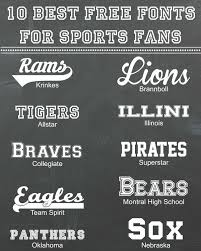 Free Sports Fonts 10 Best Free Fonts For Sports Fans Blog Inspiration Fonts