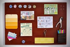 How To Make A Magnetic Memo Board My Total Office Makeover How to Make a Woodgrain Magnetic Memo 4