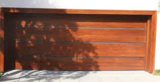 modern wood garage door. Wood/Stainless Garage Door From Hill Country Modern Wood