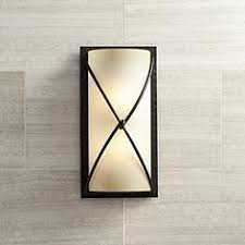 bathroom light sconces. Minka Knotted Iron 18 1/2\ Bathroom Light Sconces M