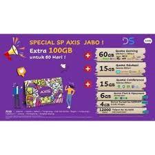 Banyak pelanggan axis yang belum mengetahui maksud kuota aplikasi axis tersebut. Jual Perdana Axis Owsem 24 Gb 3 Gb All 9 Gb 4g 12 Gb Games 24 Jam Kota Tangerang Selatan Data Store Cellular Tokopedia