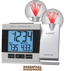 uncategorized alarm clock projects time on ceiling best la crosse technology atomic projection electric alarm clock
