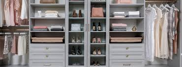 custom walk in closet system installation