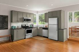 Colored Kitchen Appliances White Kitchen Appliances With Wood Cabinets Blue Walls Ensconce