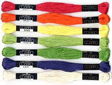 Cosmo Floss Color Chart Cosmo Embroidery Floss