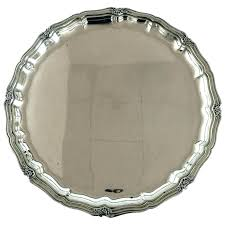 silver serving tray with handles serving tray with handles round silver serving tray cc round silver