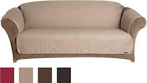Amazon.com: Sure Fit Furniture Friend Pet Throw - Sofa Slipcover ... & Sure Fit Furniture Friend Pet Throw - Sofa Slipcover - Linen (SF37507) Adamdwight.com