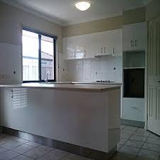 bath restoration brisbane. before - original old kitchen after by glazemaster resurfacing bath restoration brisbane