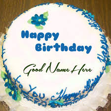 Happy Birthday Cake With Name Edit For Facebook Birthday Cakes