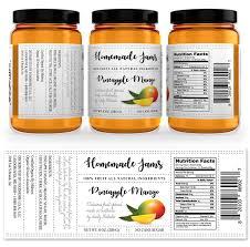 Mango Jam Label Template Getty Layouts