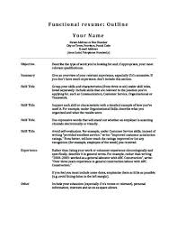 Stay At Home Mom Resume Gorgeous Functional Resume Outline Samples 48 Mmventuresco