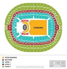 Wembley Stadium Seating Plan Hotukdeals