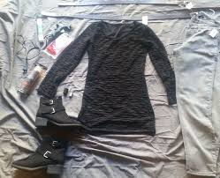 picture of rey costume the last jedi thrift diy