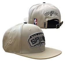 pro standard san antonio spurs pro standard shield logo khaki leather strapback cap