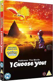 Pokemon The Movie: I Choose You! DVD with Bonus First Movie Disc [UK  Import]: Amazon.de: Sarah Natochenny, Haven Burton-Paschall, Michael Liscio  Jr., Alyson Leigh Rosenfeld, Michele Knotz, Jimmy Zoppi, Rodger Parson,  Sarah Natochenny, Haven ...