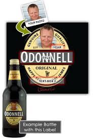 2x personalised guinness beer birthday present bottles 500ml