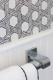 love this black and white textured cork wallpaper great tips in this post about hanging