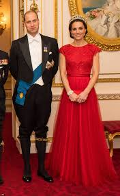 White Tie With Decorations Royal Familys Wardrobe For Buckingham Palace Reception Revealed