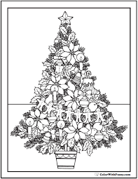 They can use any tree such as the christmas tree or the other. 25 Christmas Tree Coloring Pages Fun In The Snow