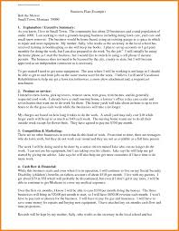 Business Plan Resume Example New College Examples Template Sample