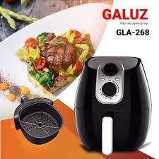 Nồi chiên không dầu Galuz GLA 268, dung tích 4L, công nghệ Rapid Air, bảo  hành chính hãng 18 tháng, Giá tháng 10/2020