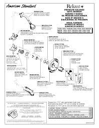 american standard shower faucet repair instructions
