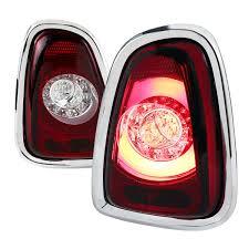 2011 Mini Cooper Brake Light Bulb Spec D Tuning Lt Mini11rled Tm Mini Cooper Led Tail Lights Red 2011 2013