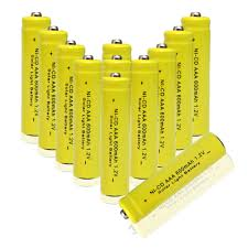 Infapower B008 AA 600mAh Solar Light Batteries  Pack Of 4Solar Light Batteries Aa