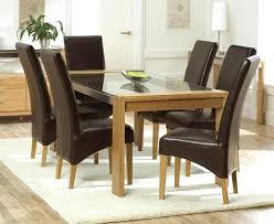 oak gl dining table solid oak gl dining table with 6 leather chairs solid oak gl top dining table