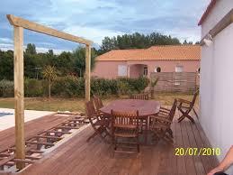 Hous Fabriquer Tonnelle Fabriquer Terrasse Jardin Et Deco Maison Pergola Construire Sur Terrasse En Bois