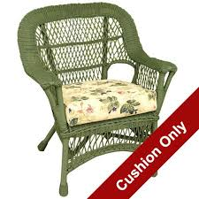 outdoor wicker furniture cushions for new or replacement at chair seat dining pads