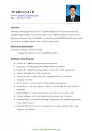 Good Resume Format For Accounts Executive In Word Fashion