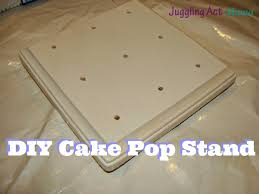 DIY Cake Pop Stand Tutorial & Template Juggling Act Mama