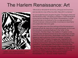 langston hughes and the harlem renaissance source because in  the harlem renaissance art we build our temples for tomorrow strong as we know